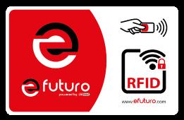 efuturo® RFID card for wallbox